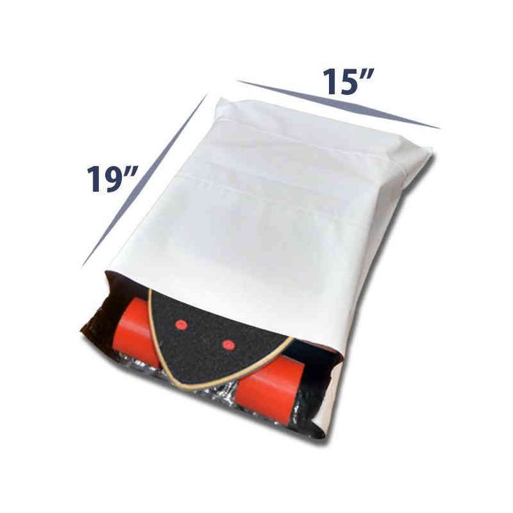 14.5 x 19 Premium Tamper Proof Plastic Courier Delivery Bags for Cloth Packaging
