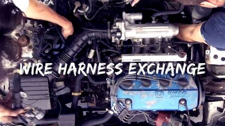 92 Honda Accord Engine Wiring Diagram And Wire Harness
