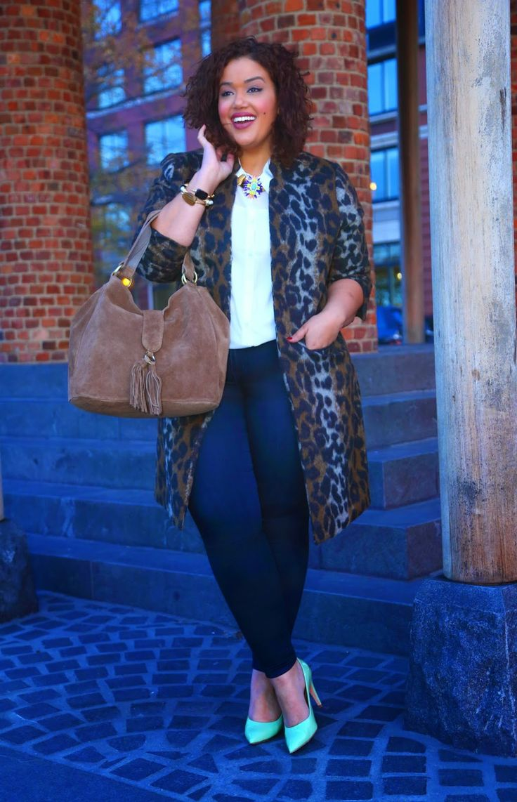 Plus Size Fashion - Inside Allie's World: New for People Style Watch: The Statement Coat!