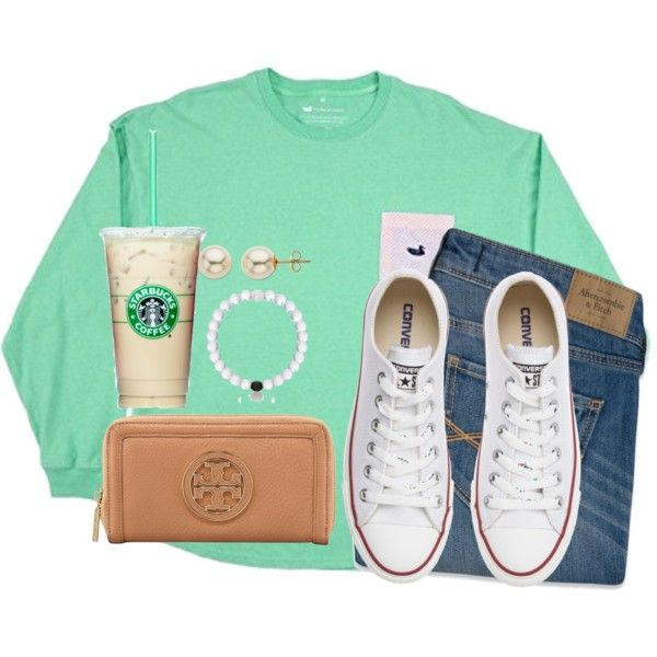 My Lokai bracelet just broke! by kaley-ii on Polyvore featuring Abercrombie & Fitch, Converse, Tory Burch and Lord & Taylor