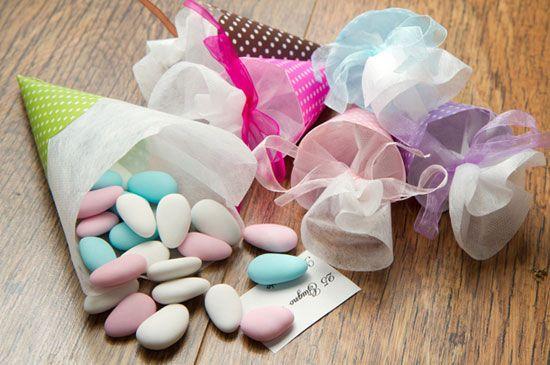 I confetti: colore, ripieno e forma.