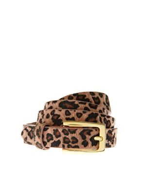 Leopard print belt: Leopards Belts, Fantasy Leather, Belts Gloves Hats Socks, Style, Leather Leopards, Prints Belts, Asos Fantasy, Leopards Prints, Asos Leopards