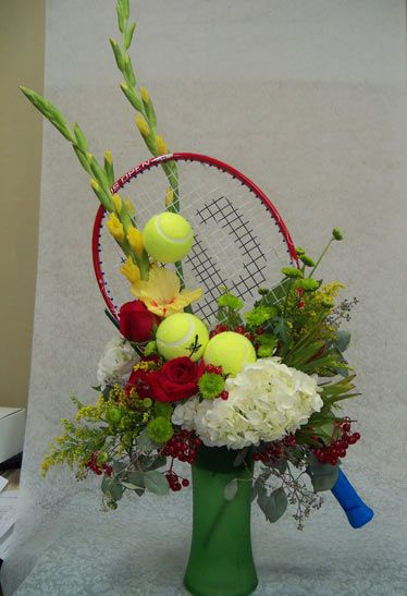 tennis floral arrangements | home gallery weddings events sympathy order flowers contact