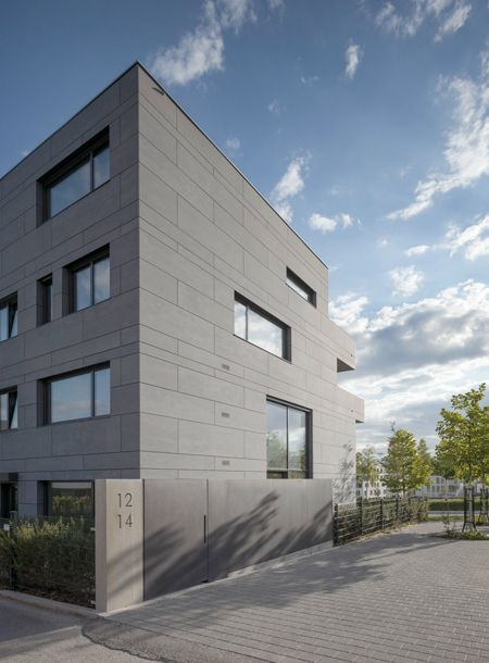 Housing Stuttgart Bottega Erhardt Arch Equitone