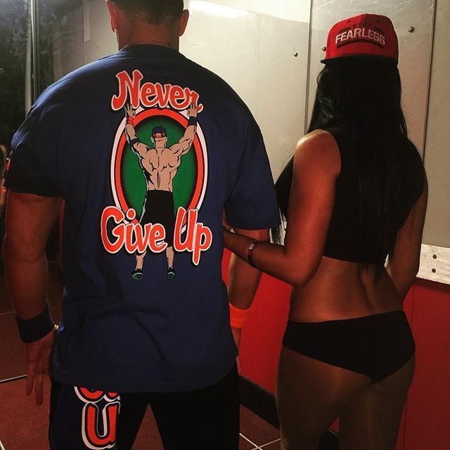 "wwe ""@johncena"" and ""@thenikkibella"" kick off #Raw! #WWE 2017/04/11 09:01:25"