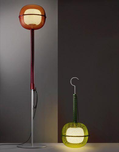Floor-standing lamp / original design / PMMA NOCTILUQUE by Philippe Nigro Artuce