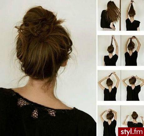 Proste fryzury na codzień
