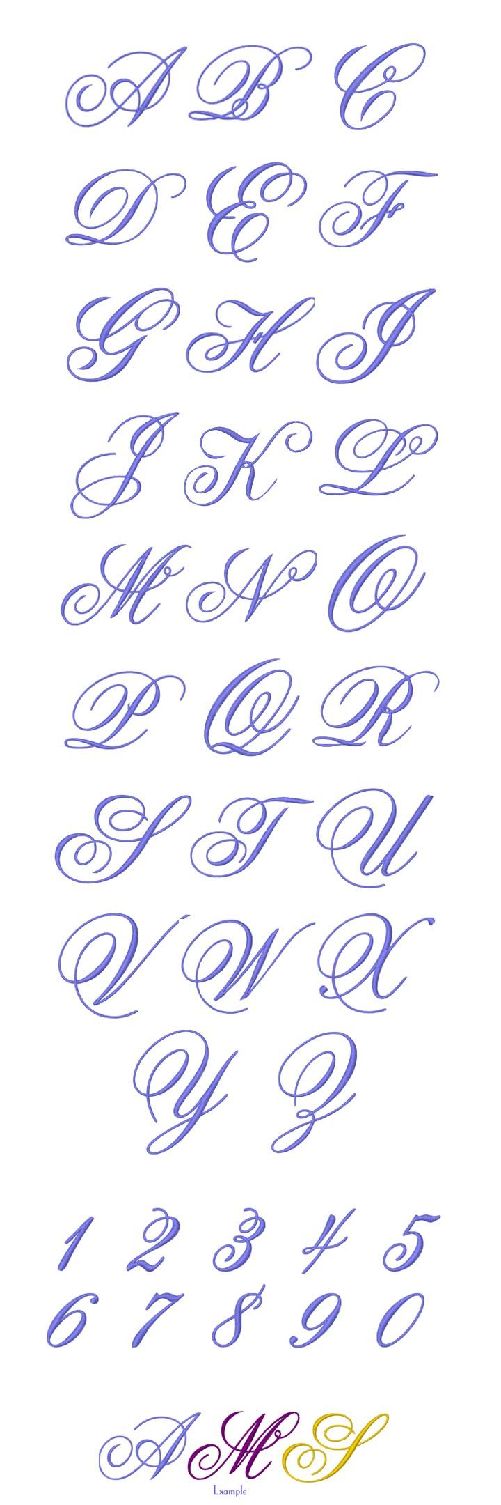 MONOGRAM Embroidery Designs Free Embroider Design Patterns Applique, smartneedle.com
