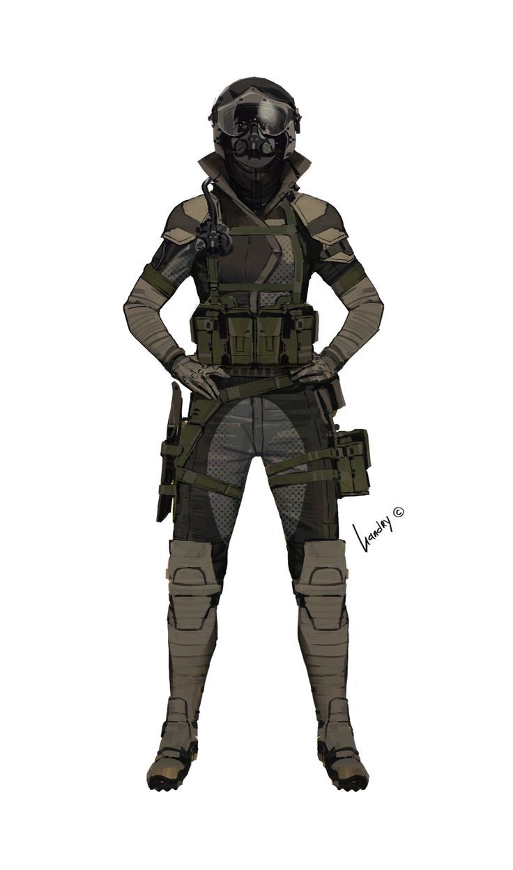 ArtStation - Sci-fi/military dudes & babes..., Gregory Vlasenko