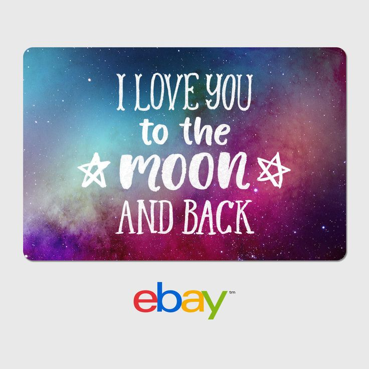 Gift cards ebay digital gift card i love you to the