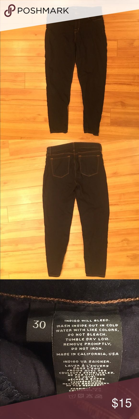 J Brand Jeans - Euro Size 30 Hard blue. No rips or stains. J Brand Jeans
