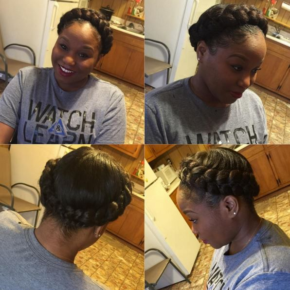 Best 20+ Halo braid with weave ideas on Pinterestno - Cute Weave Hairstyles