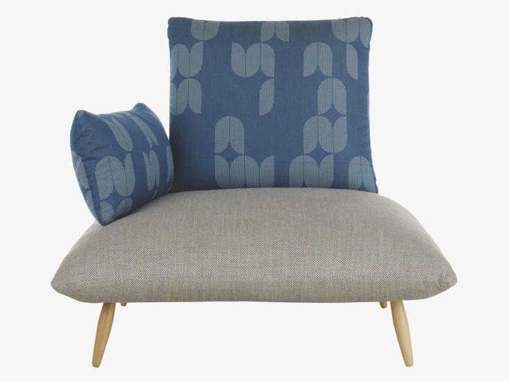 NAOKO MULTI-COLOURED Cotton blend Patterned armchair - HabitatUK