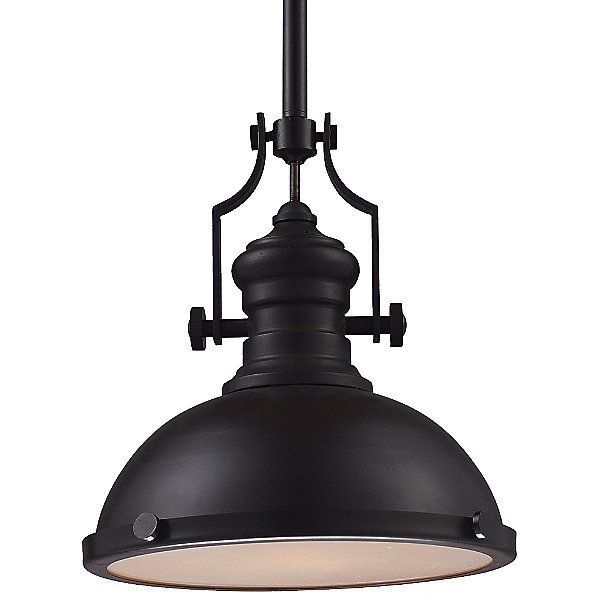 Chadwick Pendant Light With Metal Shade