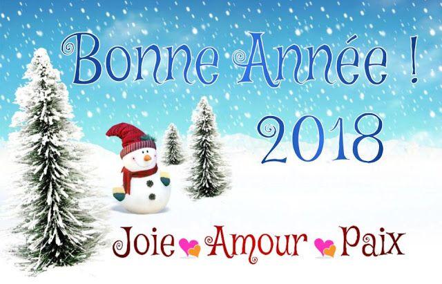Bonne Année 2018 : Texte et Carte de Vœux
