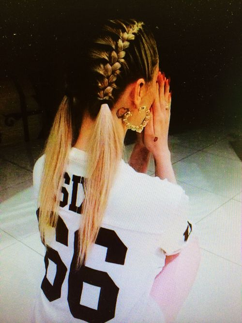 style - inked up - #trikot - #hairstyle, hip hop