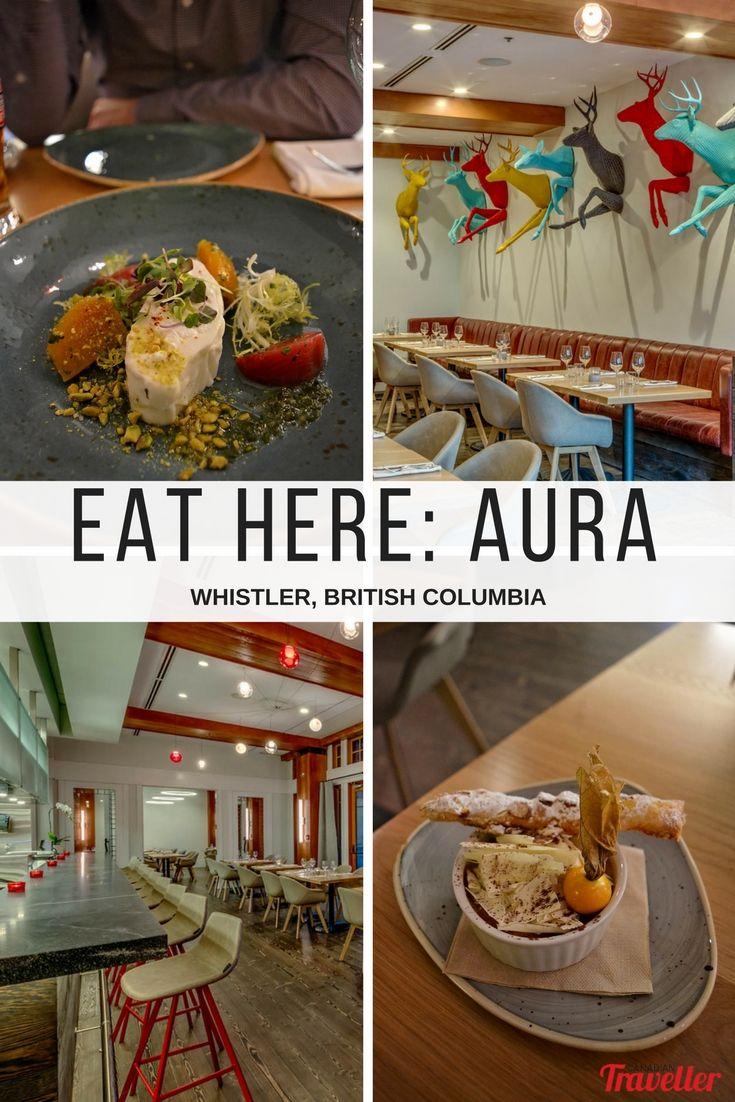 Eat Here: Aura is Whistler's Newest Dining Room (Restaurant Review) via Canadian Traveller magazine. Words by Jennifer Hubbert  #dining #eat #visit #whistler #britishcolumiba #food #foodie #nomnomnom #aura #nitalakeldoge #nita #lake #lodge