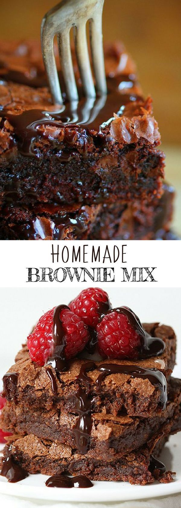 HOMEMADE BROWNIE MIX | Dessert Recipes for Kids | #iambaker