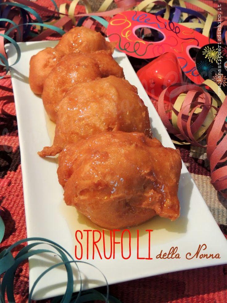 Strufoli della Nonna - www.lapasticceriadichico.it