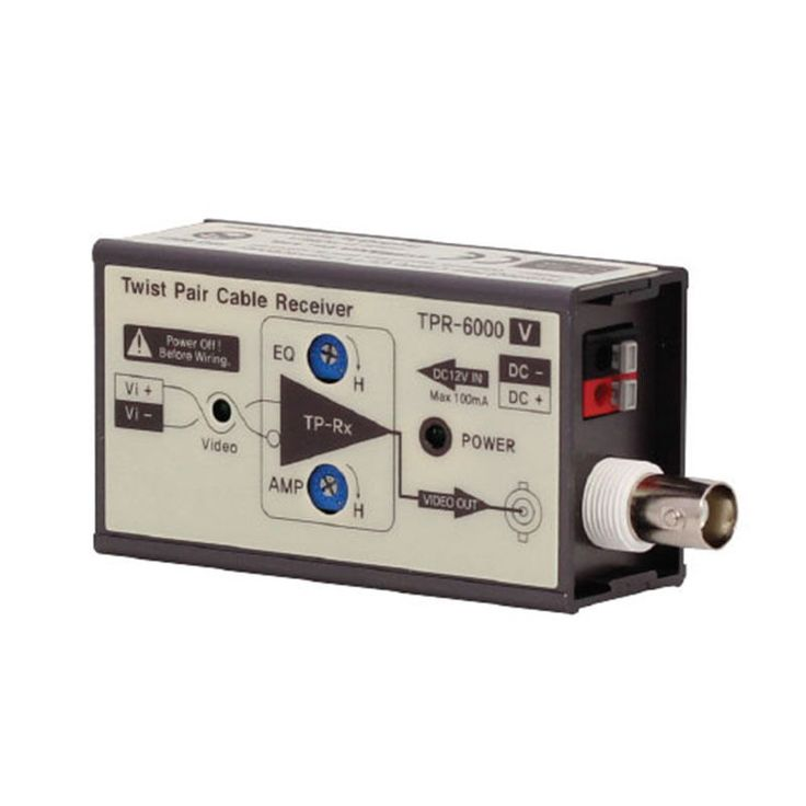 Sysmania UTP Transceiver TPR-6000V Twisted Pair Cable Receiver with Video Signal #SysmaniaAllimex