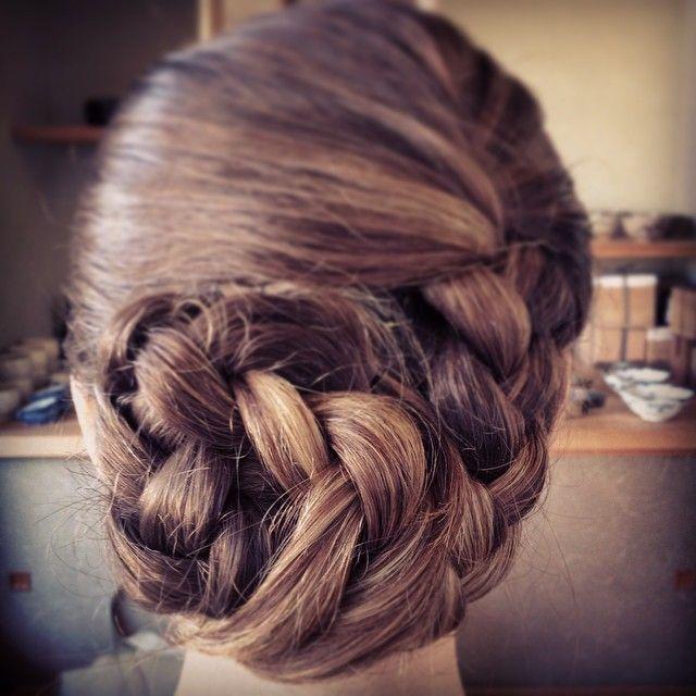 ヘアスタイル@2014 #Kimono #hairstyle