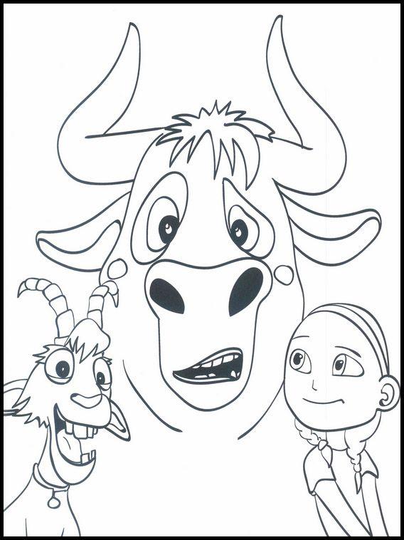 Dibujos para Colorear. Dibujos para imprimir y pintar Ferdinand 25 ...