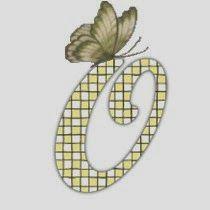 O...Alfabeto con mariposas
