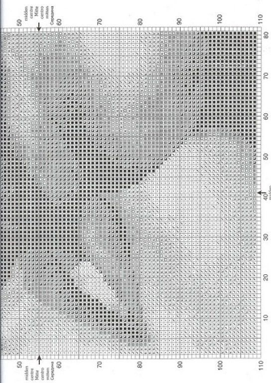 Bare Cross Stitch Patterns (p 286.)   Lær håndverk er facilisimo.com