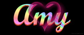 Amy name graphics