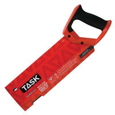 Task Tools T81212 12-in x 12TPI Supercut/Professional Backsaw