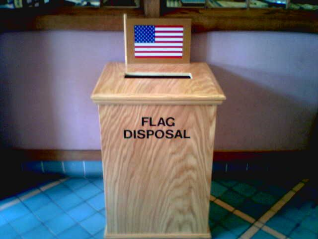 McK Park Lib Flag Disposal - United States Flag Code - Wikipedia, the free encyclopedia