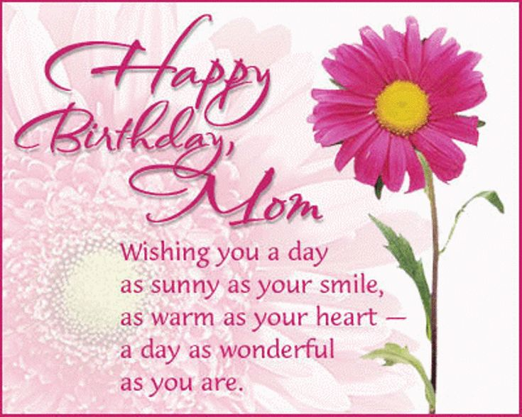 Best 25 Mom Birthday Quotes ideas – Quotes for a Birthday Card