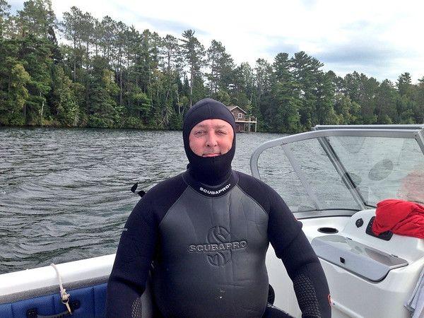 SCUBA Diving in Wisconsin