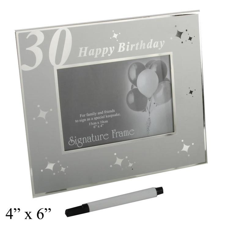 50th Birthday Signature Photo Frame: 12 Best Birthday Photo Frames Images On Pinterest
