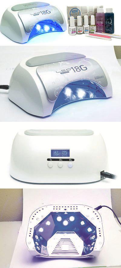 Gelish Harmony 18G Gel LED Nail Polish Curing Manicure Light Lamp + ...