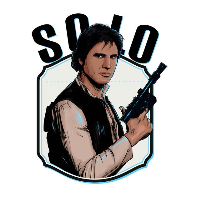 Check out this awesome 'Solo+Shoot+First' design on TeePublic! http://bit.ly/1vh0tiD ► #HanSolo @starwars