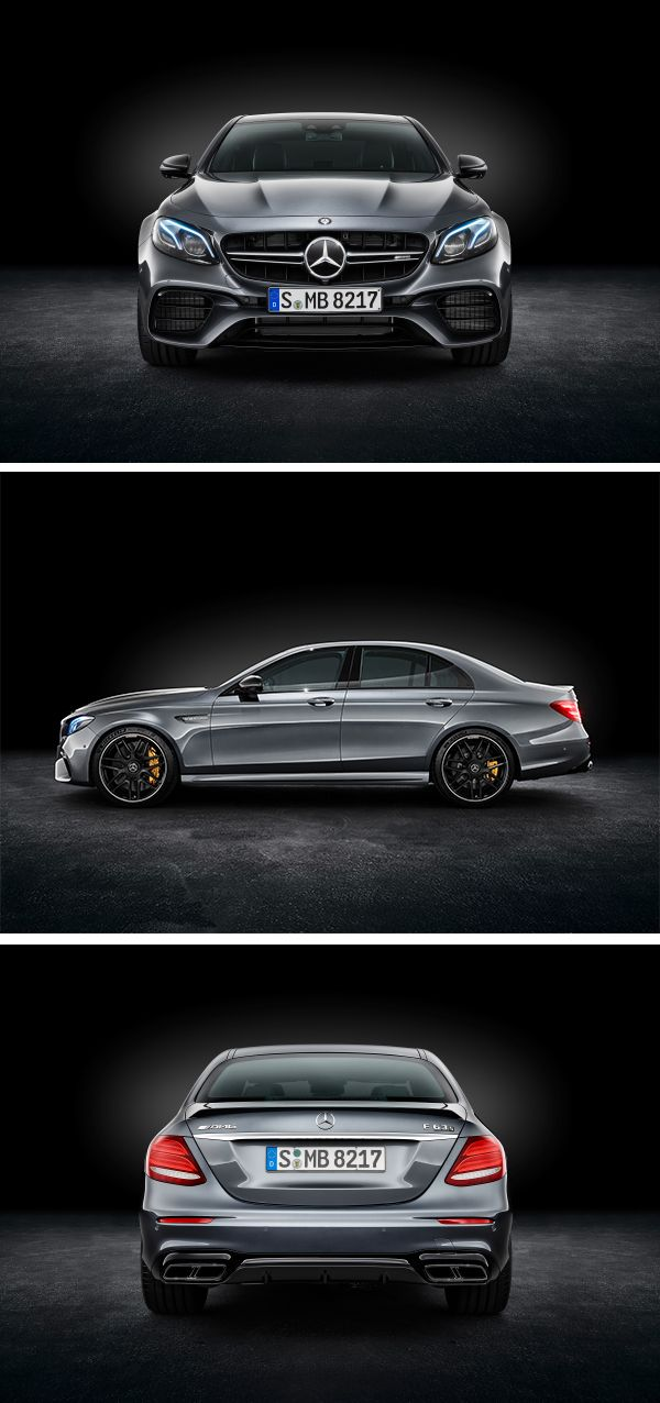 Mercedes-AMG is redefining the performance saloon: the new Mercedes-AMG E 63 S 4MATIC+ is the most powerful of his class. [Combined fuel consumption 9.2–8.9 l/100km | combined CO2 emission 209–203 g/km | http://mb4.me/efficiency_statement]
