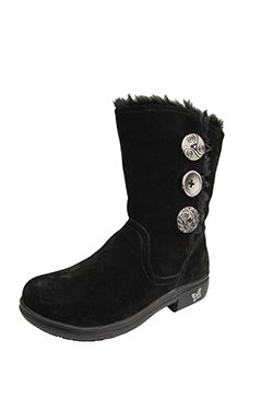 Alegria Nanook Black Licorice Boot