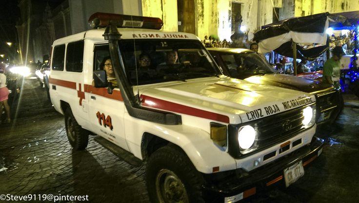 Ambulancia - Cruz Roja (Red Cross) Nicaraguense @ Leon, Nicaragua