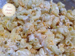 Macaroni salad one of my family's favorite side dishes. There are many, many macaroni salad variations, but we're simple...we like two specific kinds. The first is a Hawaiian style macaroni salad...