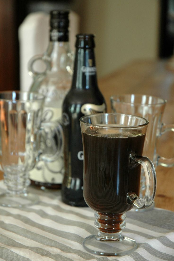 Dark and Irish Guinness Cocktail via AnAppealingPlan.com by @KraylFunch single