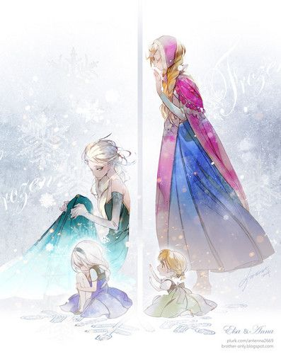 Frozen                        - frozen Fan Art            This is cool