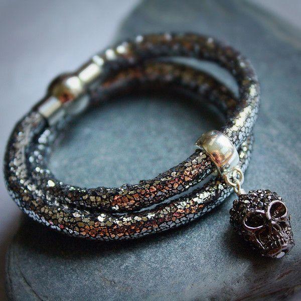 Brand new skull bracelet from Meeka-Boo Designs £16.00