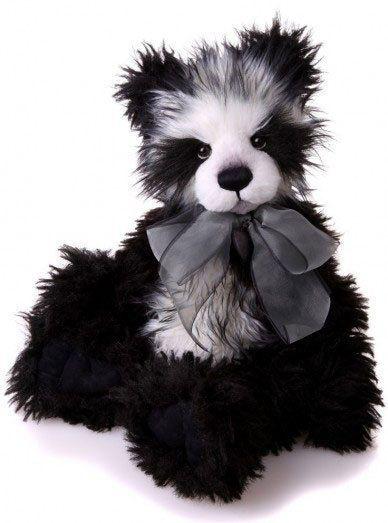 "Charlie Bear Quentin 20"" Plush Panda Bear  20"" Plush    #CharlieBears"