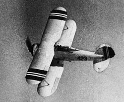 Gloster Gladiator of the Norwegian Army Air Service in 1940.