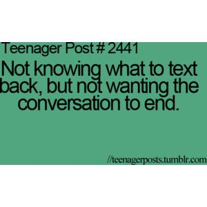teenager posts in order starting with #1   teenager post   Tumblr