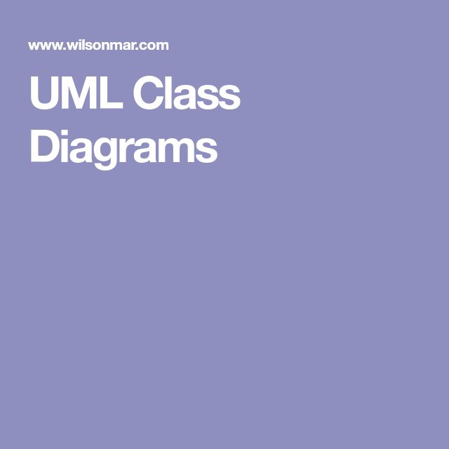 16 best UML class diagram images on Pinterest Class diagram - wandgestaltung in der küche