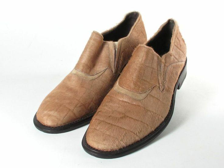 VITTORIO VIRGILI MEN S tan SLIP-ON CASUAL SHOES SIZE 42 US 10