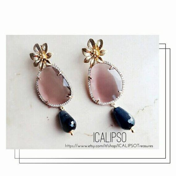 Guarda questo articolo nel mio negozio Etsy https://www.etsy.com/it/listing/516256747/gioielli-rosa-per-le-donne-gioielli-per