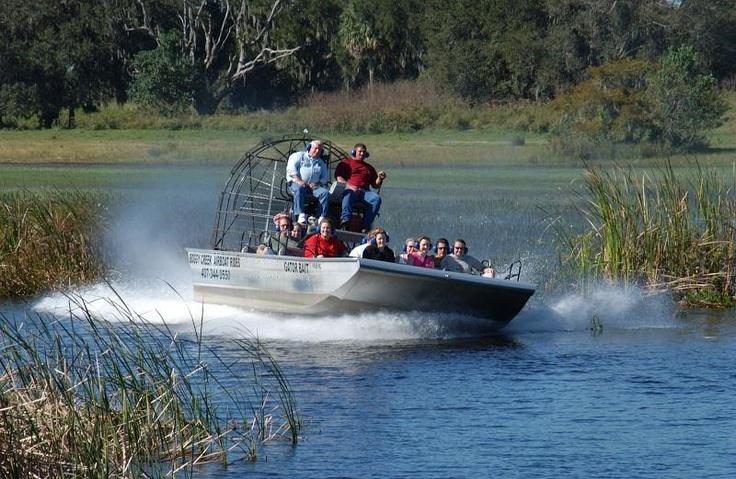 Boggy Creek Airboat Rides Explore Orlando Pinterest